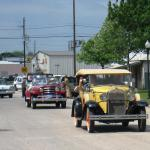 The Antique Car, Buggy & Tractor parade