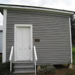 The Hackbarth House located within the Sealy Historical Park.